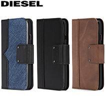 アウトレット iPhone 7/8 FOLIO CASE -Leather/Denim DIPH-011-LEAGD
