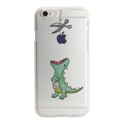 63db830025 Dparks iPhone 6/6s ソフトクリアケース ファンタジー はらぺこザウルス