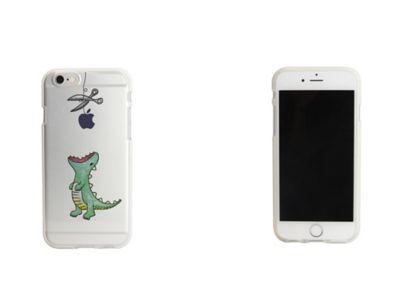 70f3f1e949 Dparks iPhone 6/6s ソフトクリアケース ファンタジー はらぺこザウルス. 1