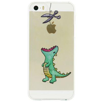 Dparks iPhone SE / 5s/5 クリアケース はらぺこザウルス