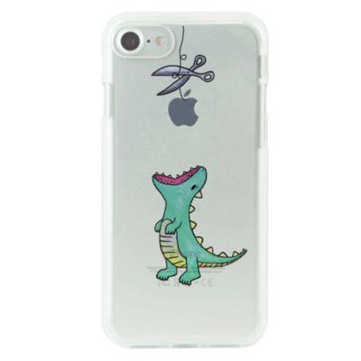 Dparks iPhone 8 / 7 ソフトクリアケース はらぺこザウルス