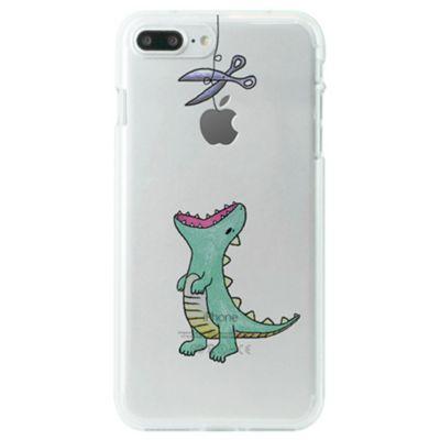 Dparks iPhone 8 Plus / 7 Plus ソフトクリアケース はらぺこザウルス