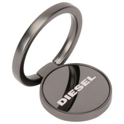 DIESEL Universal STYLE RING Gunmetal Matte PVD