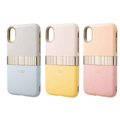 GRAMAS iPhoneXS iPhoneX ケース Rel Hybrid Shell Case