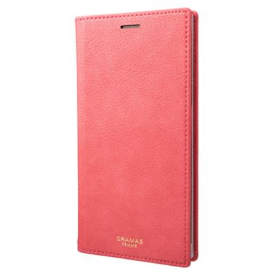 GRAMAS iPhoneXSMax ケース 手帳型 レザー Colo PU Leather Book Case