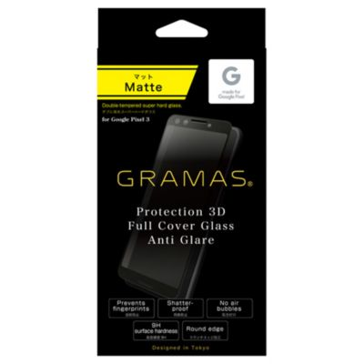 GRAMAS Protection 3D Full Cover Glass Anti Glare for Pixel 3