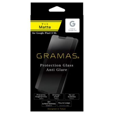 GRAMAS Protection Glass Anti Glare for Pixel 3 XL