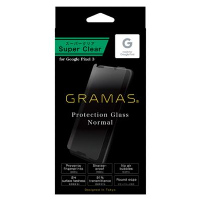 GRAMAS Protection Glass Normal for Pixel 3 XL