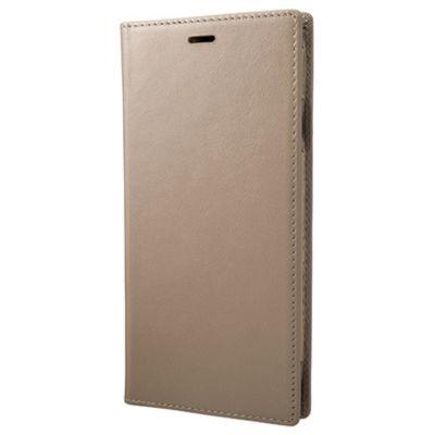 GRAMAS iPhoneXSMax ケース 手帳型 レザー Italian Genuine Leather Book Case