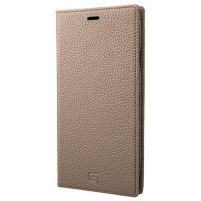 GRAMAS iPhoneXSMax ケース 手帳型 レザー Shrunken Calf Leather Book Case