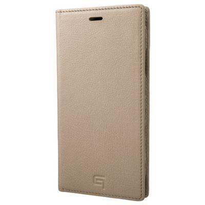 GRAMAS iPhoneXR ケース 手帳型 レザー Italian Genuine Leather Book Case