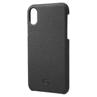 GRAMAS iPhoneXS iPhoneX ケース レザー Shrunken Calf Leather Shell Case