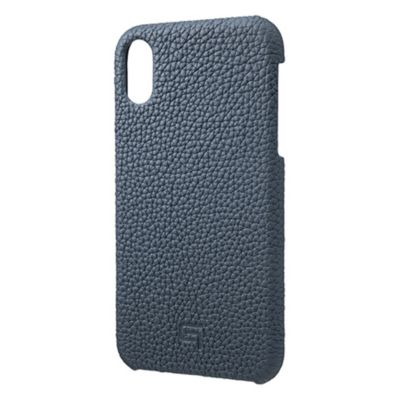 GRAMAS iPhoneXR ケース レザー Shrunken Calf Leather Shell Case