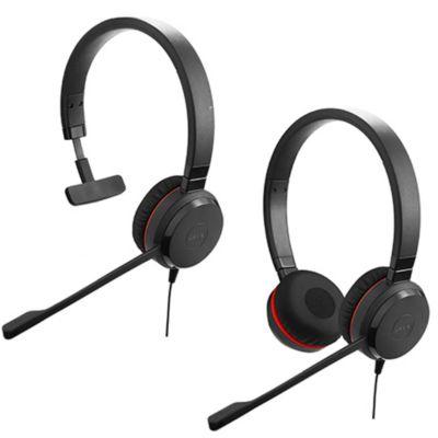 Jabra Evolve 30 II Mono / Stereo 業務用ヘッドセット