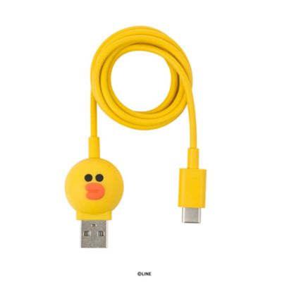 USB Type-C ケーブル LINE FRIENDS 充電 データ転送 対応 ラインフレンズ 1m「LINE FRIENDS公式ライセンス商品」