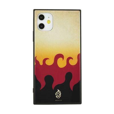 gourmandise 鬼滅の刃  iPhone 11 / XR スクエア ガラス ケース