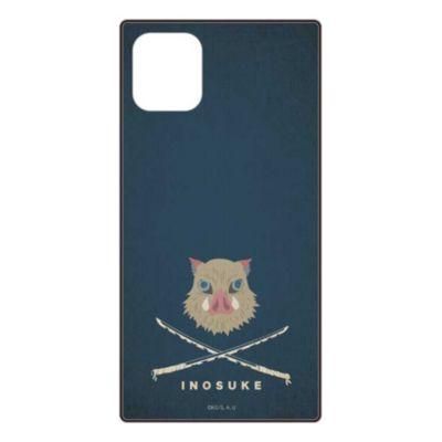 gourmandise 鬼滅の刃 グッズ iPhone 12 / iPhone 12 Pro スクエアガラス ケース