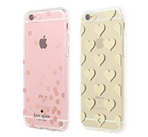 【kate spade new york】 Hardshell Clear Case for iPhone 6s/6