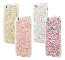 【kate spade new york】 Clear Glitter Case for iPhone 6s/6