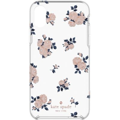 Kate Spade iPhoneXR ケース kate spade new york Protective Hardshell HAPPY ROSE