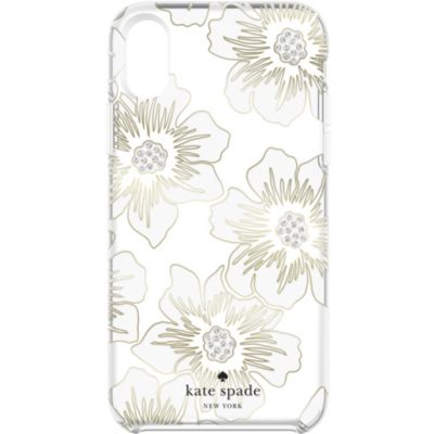 Kate Spade iPhoneXR ケース kate spade new york Protective Hardshell Reverse Holly Hock