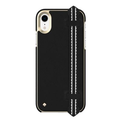 Kate Spade iPhoneXR ケース kate spade new york Wrap Strap Case for iPhone