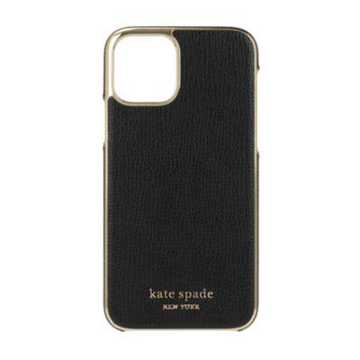 【アウトレット】 kate spade iPhone 11 Pro Inlay Wrap black pu