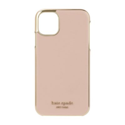 【アウトレット】 kate spade iPhone 11 Inlay Wrap pale vellum
