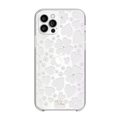 【SoftBank限定モデル】Kate Spade iPhone12Pro / 12 KSNY Protective Hardshell Case クリア