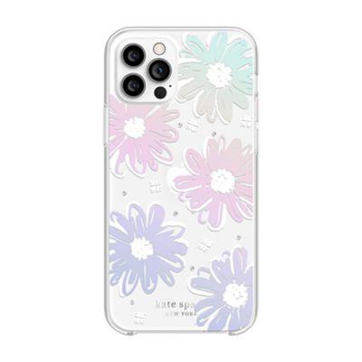 Kate Spade iPhone12Pro/iPhone12 KSNY Protective Hardshell Case ホワイト