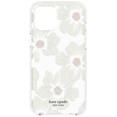 Kate Spade iPhone12Pro/iPhone12 KSNY Protective Hardshell Case クリア ホワイト