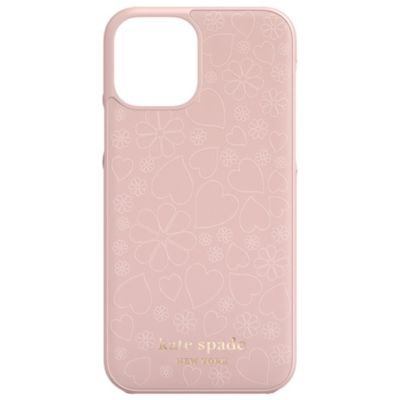 Kate Spade iPhone12Pro/iPhone12 KSNY Wrap Case ピンク