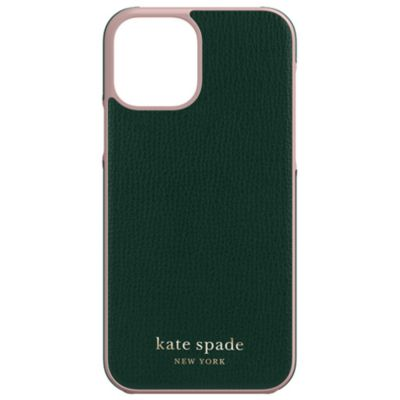 Kate Spade iPhone12Pro/iPhone12 KSNY Wrap Case ブラック