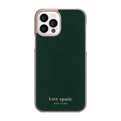 Kate Spade iPhone12Pro/iPhone12 KSNY Wrap Case グリーン