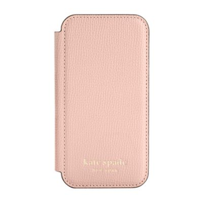 Kate Spade iPhone12mini KSNY Folio Case ピンク