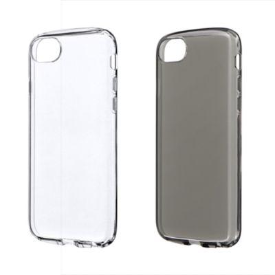 MSソリューションズ iPhone SE(第2世代)/8/7/6s/6 耐衝撃ソフトケース CLEAR ROUND