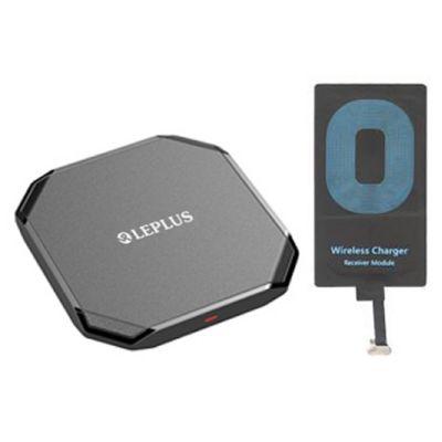 ワイヤレスチャージャー アダプターセット micro USB LP-QI06MCS
