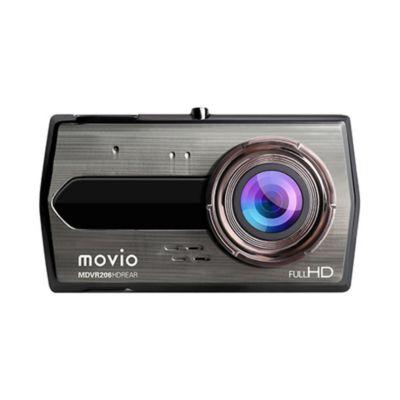 NAGAOKA 高画質HDリアカメラ搭載 前後2カメラ ドライブレコーダー MDVR206HDREAR