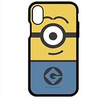 gourmandise 怪盗グルーシリーズ(ミニオンズ)IIII fit iPhone X FULL DISPLAY MODEL対応ケース