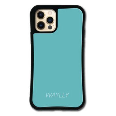 WAYLLY-MK  iPhone12Pro / iPhone12 ケース カバー  ドレッサー スモールロゴ
