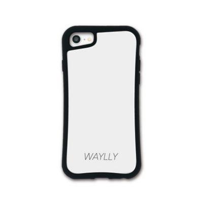 WAYLLY-MK  iPhone SE (第2世代) / 8 / 7 / 6s / 6 ケース カバー  ドレッサー スモールロゴ