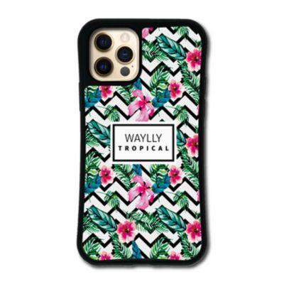 WAYLLY-MK  iPhone12Pro / iPhone12 ケース カバー  ドレッサー トロピカル