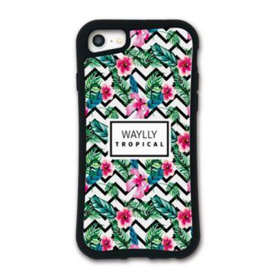 WAYLLY-MK  iPhone SE (第2世代) / 8 / 7 / 6s / 6 ケース カバー  ドレッサー トロピカル