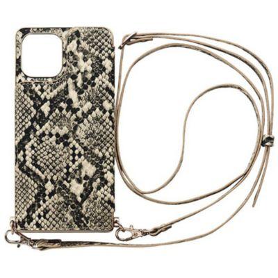 CCCフロンティア iPhone12Pro/iPhone12 Cross Body Case Animal Series ホワイト ブラック