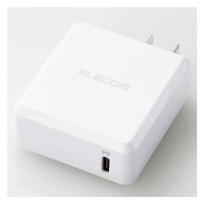 エレコム スマートフォン・タブレット用AC充電器/PD認証/18W/Type-C1ポート
