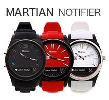 Martian Watches NOTIFIER