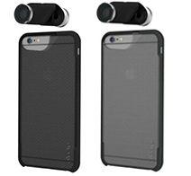 olloclip 4-in-1 Photo Lens & olloCase for iPhone 6 Plus Silver/Black