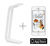 PFU SnapLite for iPhone (�X�L���i�[+�Ɩ�)