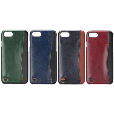 PGA iPhone 8 / 7 / 6s/6用 バックポケットケース Stitch