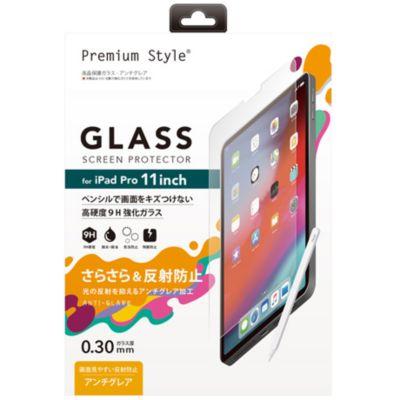 PGA iPad Pro 11インチ用 液晶保護ガラス アンチグレア